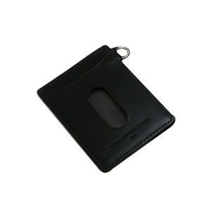 パスケース メンズ スリップオン INFORMATIONシリーズ New Leather Productsコレクション BT パスケース ブラック INL-3003BK|nomado1230