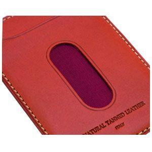 パスケース メンズ スリップオン INFORMATIONシリーズ New Leather Productsコレクション BT パスケース ダークブラウン INL-3003DBR|nomado1230|03