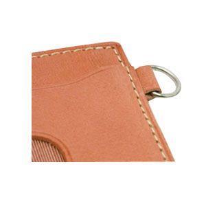 パスケース メンズ スリップオン INFORMATIONシリーズ New Leather Productsコレクション BT パスケース ダークブラウン INL-3003DBR|nomado1230|04