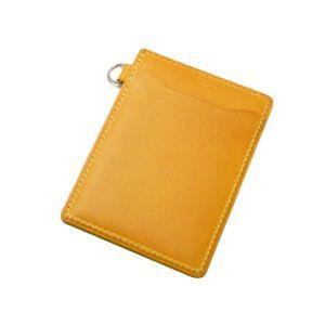 パスケース レディース スリップオン INFORMATIONシリーズ New Leather Productsコレクション BT パスケース イエロー INL-3003YL|nomado1230|02