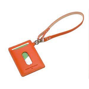 パスケース レディース スリップオン INFORMATIONシリーズ New Leather Productsコレクション BT パスケース イエロー INL-3003YL|nomado1230|05