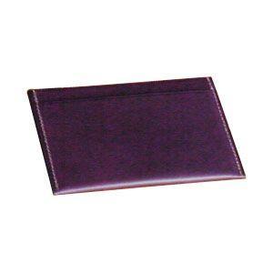 カードケース レディース 名入れ スリップオン BT シングル カードケース パープル INL-3004PU nomado1230