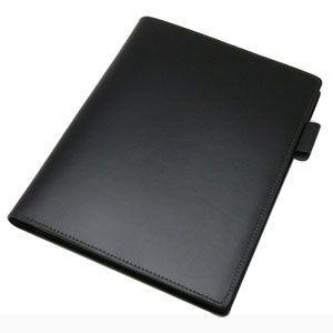 メモカバー 革 A5 スリップオン Rio&DNLシリーズ ブラック RHODIA メモカバー No.16 A5 サイズ対応 IOL-1207BK|nomado1230