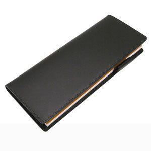 スリップオン Rio&DNLシリーズ ブラック RHODIA メモカバー No.8サイズ対応 IOL-6002BK|nomado1230