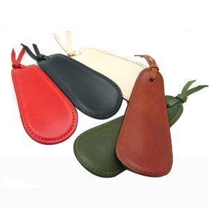 靴べら おしゃれ 革 名入れ スリップオン Rio&DNLシリーズ ワイン 靴ベラ シューホーン IOL-2501WN nomado1230 03