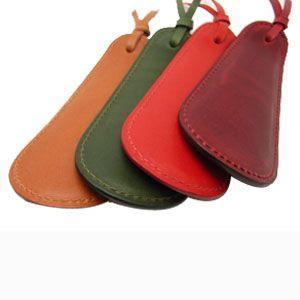 靴べら おしゃれ 革 名入れ スリップオン Rio&DNLシリーズ ワイン 靴ベラ シューホーン IOL-2501WN nomado1230 06