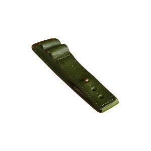 ブックバンド おしゃれ 革 スリップオン MinervaBoxシリーズ レザーバンドL 3個セット グリーン IVL-1701GRN|nomado1230