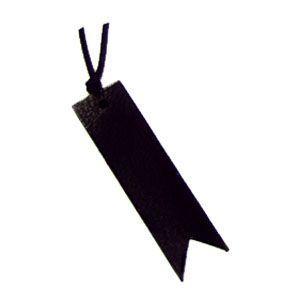 ブックマーク 名前入り スリップオン MinervaBoxシリーズ リボンしおり 3個セット ブラック IVL-5001BK|nomado1230