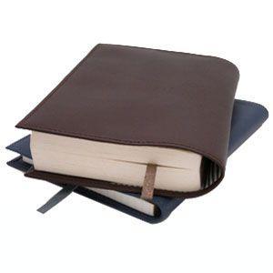 ブックカバー 革 スリップオン Noir NSLシリーズ オレンジ ノワールコレクション 文庫判サイズ ブックカバー ブックジャケット NSL-2401OR|nomado1230|05