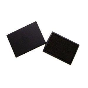 スタンプ スリップオン ステーショナリーコレクション Stamp ブラック インクパッド S-300/S-304用 S-300-7BK|nomado1230