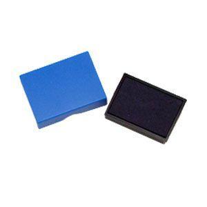 スタンプ スリップオン ステーショナリーコレクション Stamp ブルー インクパッド S-300/S-304用 S-300-7BL|nomado1230
