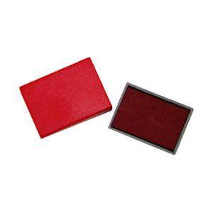 スタンプ スリップオン ステーショナリーコレクション Stamp レッド インクパッド S-300/S-304用 S-300-7RD|nomado1230