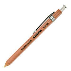 高級 ボールペン スリップオン ステーショナリー SIERRAコレクション ナチュラル 木軸シャープペン Sサイズ 10本ロット WSP-3001NT|nomado1230