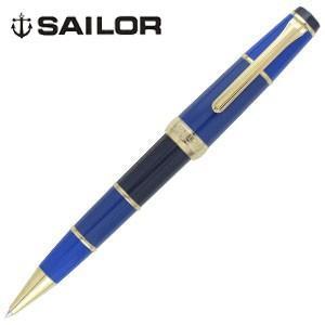 高級 ボールペン 名入れ セーラー万年筆 オリジナルペンケース プレゼント ミルコロール Millecolor ボールペン ブルー 16-1029-240|nomado1230