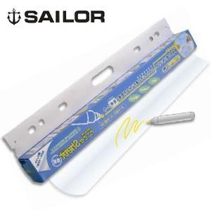 ホワイトボード セーラー万年筆 どこでもシート 9個セット 透明 31-3802-000|nomado1230