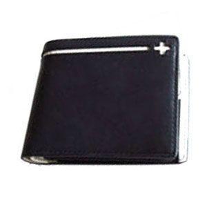 C カンパニー クローチェシリーズ ネイビー・ホワイト 二つ折り財布 cro-807NB|nomado1230