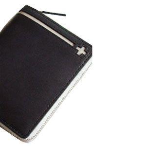C カンパニー クローチェシリーズ ネイビー・ホワイト ラウンド財布 cro-808NB nomado1230 02