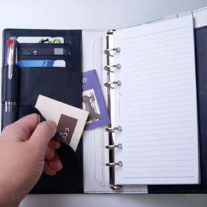 システム手帳 バイブル 革 C カンパニー クローチェシリーズ バイブルサイズ ブラック システム手帳 cro-815BK|nomado1230|03