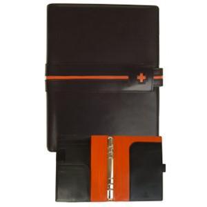 システム手帳 A5 C カンパニー クローチェシリーズ A5サイズ ブラック システム手帳 cro-820BK|nomado1230