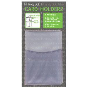 カードフォルダー ダイゴー ハンディピック カードホルダー2 名刺入れ 6セット C5500|nomado1230