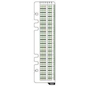 リフィル A5 ダヴィンチ システム手帳 リフィル A5サイズ アクセサリー ブックマーク 5冊セット DAR299|nomado1230