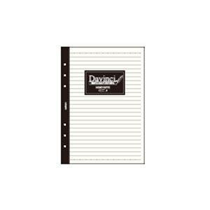 ノート A5 ダヴィンチ A5サイズ メモ帳ノート 6.5ミリ罫 5セット DAR400|nomado1230