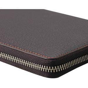 ダヴィンチ ピッグスキン ラウンドファスナー 聖書サイズ 15ミリ システム手帳 ブラック DB1402B|nomado1230|03