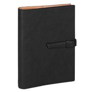 ダヴィンチ ダ・ヴィンチ グランデ アースレザー A5サイズ リング25ミリ システム手帳 ブラック DSA1702B|nomado1230