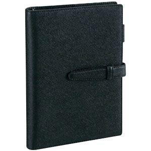 ダヴィンチ ダ・ヴィンチ グレインレザー A5サイズ リング15ミリ システム手帳 (ブラック) JDA106B|nomado1230