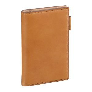 ダヴィンチ ダ・ヴィンチ グランデ アースレザー ポケットサイズ リング11ミリ システム手帳 ブラウン JDP805C|nomado1230