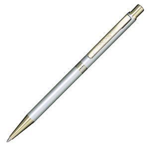 高級 ボールペン 名入れ ダックス(DAKS) ハイセンス スリムタイプ メタルシルバー ボールペン 66-1225-219 nomado1230