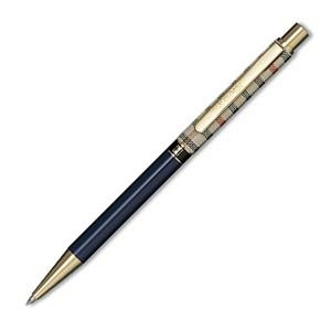 高級 ボールペン 名入れ ダックス(DAKS) ハウスチェック カラー ブルー ボールペン 66-1230-240|nomado1230