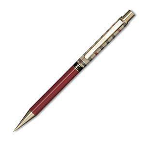 シャーペン 高級 名入れ ダックス(DAKS) ハウスチェック カラー マルン 0.5ミリ シャープペンシル 66-1330-532|nomado1230
