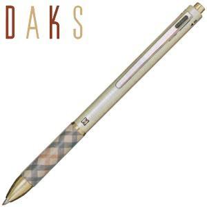 高級 マルチペン 名入れ ダックス(DAKS) DAKS ブリーズ3 2色ボールペン+シャープペンシル マルチペン ゴールド 66-1224-279|nomado1230