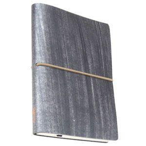 ノート 横罫 チアック (CIAK) フィレンツェノート eco Sサイズ 横罫 192ページ メタリック 8165CKR22|nomado1230