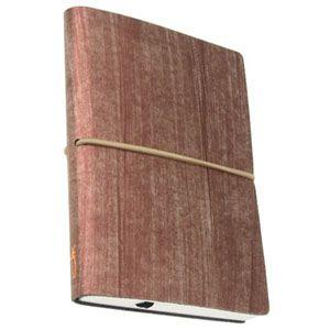 ノート 横罫 チアック (CIAK) フィレンツェノート eco Sサイズ 横罫 192ページ ウッド 8165CKR36|nomado1230