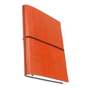 ノート 横罫 チアック (CIAK) 6ミリ横罫 Sサイズ オレンジ ノート 8165CK23OR|nomado1230