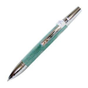 高級 ボールペン 名入れ デリブリス アドリアーナシリーズ アミスタ アオ ボールペン 2本セット BAM-BL|nomado1230
