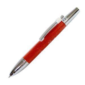 高級 ボールペン 名入れ デリブリス アドリアーナシリーズ アミスタ オレンジ ボールペン 2本セット BAM-O|nomado1230