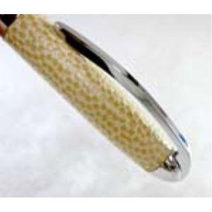 高級 ボールペン デリブリス アドリアーナシリーズ コモ レザー ボールペン 2本セット チャ BCOM-BR|nomado1230|04
