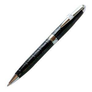 高級 ボールペン デリブリス アドリアーナシリーズ パドバ レザー ボールペン 2本セット クロ BPD250N|nomado1230