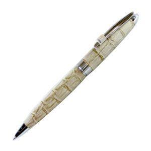 高級 ボールペン デリブリス アドリアーナシリーズ パドバ レザー ボールペン 2本セット ベージュ BPD250BE|nomado1230