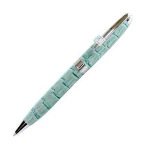 高級 ボールペン デリブリス アドリアーナシリーズ パドバ レザー ボールペン 2本セット アオ BPD250BL|nomado1230