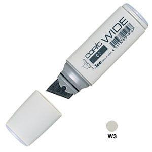 アルコールマーカー トゥー コピック ワイド COPIC WIDE アルコール染料 インクペン 5本セット Warm Gray No.3 WIDE-W3|nomado1230