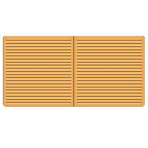 ノート デイクラフト(DAYCRAFT) Cookie Bookie ノートブック 2セット チーズ クラッカー R4024|nomado1230|04