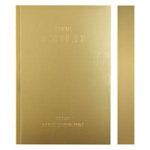 ノート A6 横罫 デイクラフト(DAYCRAFT) スラブ A6サイズ 横罫 ノートブック 2冊セット ゴールド R4050|nomado1230