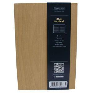 ノート A6 横罫 デイクラフト(DAYCRAFT) スラブ A6サイズ 横罫 ノートブック 2冊セット 木目 R4051|nomado1230|03