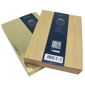 ノート A6 横罫 デイクラフト(DAYCRAFT) スラブ A6サイズ 横罫 ノートブック 2冊セット 木目 R4051|nomado1230|04