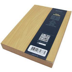 ノート A6 横罫 デイクラフト(DAYCRAFT) スラブ A6サイズ 横罫 ノートブック 2冊セット 木目 R4051|nomado1230|05