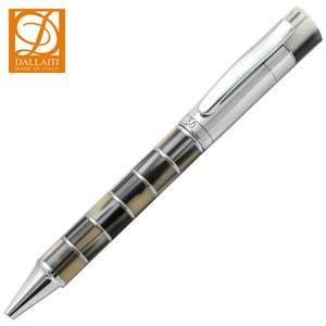 高級 ボールペン ダライッティ(DALLAITI) モザイクブロック ブラックベージュ ボールペン AKR12|nomado1230